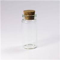 DIY手工水晶珠玻璃瓶配套软木塞现货批发