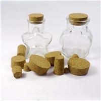 批发订制配套玻璃瓶的复合软木塞