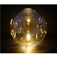 中山超恒艺灯饰供应 灯罩 平口圆球