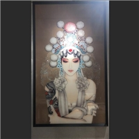 裝飾琺瑯彩玻璃 琺瑯彩裝飾畫 杭州憶川