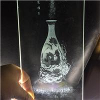 发光内雕玻璃