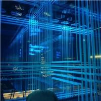 激光艺术玻璃 内雕发光玻璃