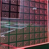 广州优越导光玻璃激光内雕玻璃
