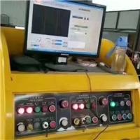 出售上海海利宁双翻双工位自动切割机一台