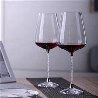 高硼硅红酒杯S-04水晶底座升级版酒杯