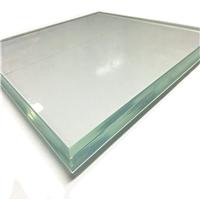 专业生产高透光钢化超白玻璃厂家切割磨边定制生产