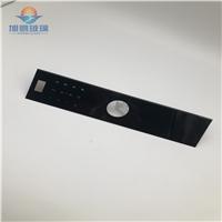 廠家供應機箱面板玻璃,儀器儀表玻璃,黑晶鋼化面板玻璃