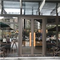 黑色咖啡店门_佛山铝合金地弹门安装厂家,佛山市兴荣峰门业有限公司,其它,发货区:广东 佛山 禅城区,有效期至:2020-04-28, 最小起订:1,产品型号: