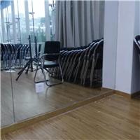 广州专业墙面大镜子安装舞蹈教室落地镜子移动镜子安装