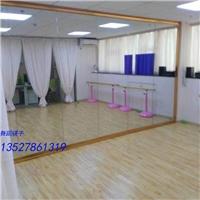 广州专业墙面镜子安装练功镜子安装移动舞蹈镜子安装