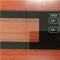 加工定制玻璃丝印面板指纹锁中控