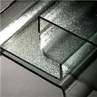 U型玻璃冰花紋U型玻璃廣州優越特種玻璃