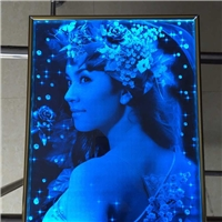 内雕刻玻璃 发光玻璃护栏隔断玻璃