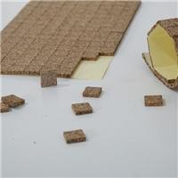 玻璃軟木墊廠家直銷帶膠軟木墊包郵軟木貼3mm