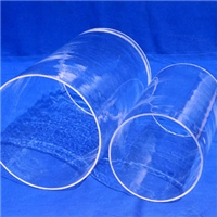 透明石英玻璃管耐高溫石英玻璃管加工定制