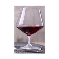 洋酒杯H03高硼硅无铅矮脚杯水钻灌柱