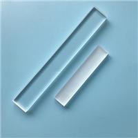 耐高温石英玻璃片透明 磨砂加工定制