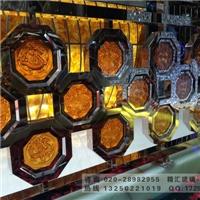 广州琉璃工艺品厂家 古法琉璃艺术玻璃砖背景墙壁画