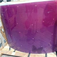 销售弯刚彩色夹胶玻璃