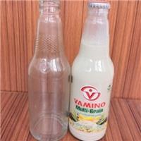 出口玻璃瓶厂家供应高白料玻璃奶瓶