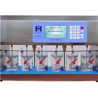 混凝試驗攪拌機-彩屏六聯電動攪拌器