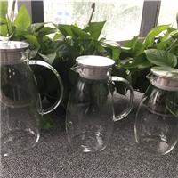 凉水壶玻璃耐热家用防爆冷水壶大容量杯子套装凉水杯