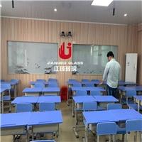 学校录播教室有背景图案单向玻璃 微格教室单反玻璃