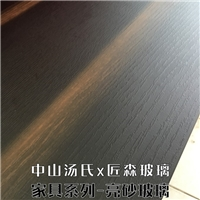 木纹玻璃餐桌玻璃定制,中山汤氏玻璃有限公司,家具玻璃,发货区:广东 中山 中山市,有效期至:2020-02-26, 最小起订:1,产品型号: