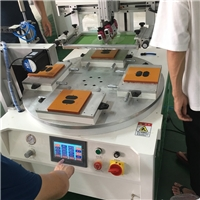 唐山市丝印机厂家玻璃板丝网印刷机玻璃配件移印机
