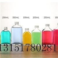 玻璃瓶果汁饮料泡茶奶茶店专项使用瓶