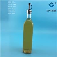 500ml方橄欖油玻璃瓶