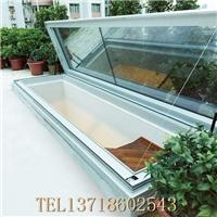 封天井 装通风换气排烟电动天窗