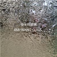 玻璃 压花玻璃 透明玫瑰 clear rose