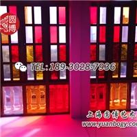 彩色玻璃窗彩色装饰玻璃蒂凡尼彩色玻璃