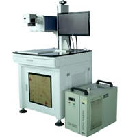 厂家直销UV电子激光打标机 紫光激光喷码机镭雕机