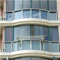 上海无框阳台窗维修服务 配阳台无框玻璃窗