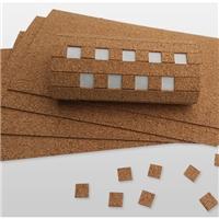 江西廠家玻璃軟木墊橡膠墊子隔離保護墊片不脫膠