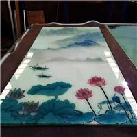 夾絲玻璃夾絲絹玻璃夾絲絹藝術玻璃