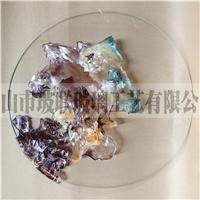 現貨  純手工琺瑯彩 裝飾掛畫玻璃
