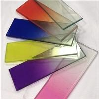 UV渐变贴膜玻璃色板2