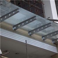 天津安裝玻璃雨棚廠家