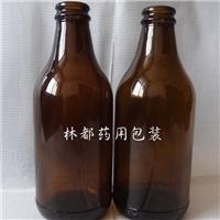 小容量棕色啤酒瓶 耐高低温玻璃啤酒瓶林都厂家直销