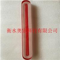 厂家现货供应单槽红色双色水位计玻璃板