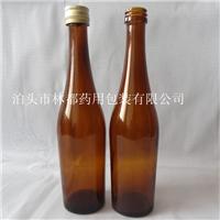 化学稳定性好棕色玻璃酒瓶林都厂家定制配送