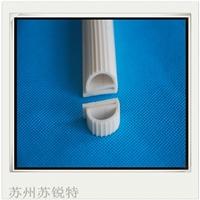 白色硅胶E型耐高温密封条