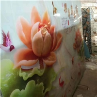 热转印玻璃背景墙,玻璃转印机,玻璃渗画设备
