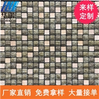玻璃馬賽克 水晶玻璃馬賽克 馬賽克瓷磚 磨砂玻璃隔斷