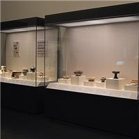 玻璃展柜 博物馆展示柜电动平移开启