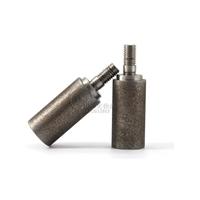 磨凸轮分割器内孔高精度电镀CBN带柄砂轮 电子磨头10mm
