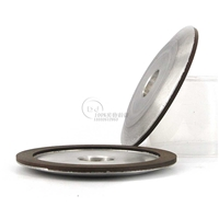 4A2碟型端面磨合金樹脂砂輪  150D*6T*31.75H*10W*2X